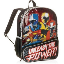 Power Rangers - Large 16 Inch - Backpack -  Boys - Unleash the Power