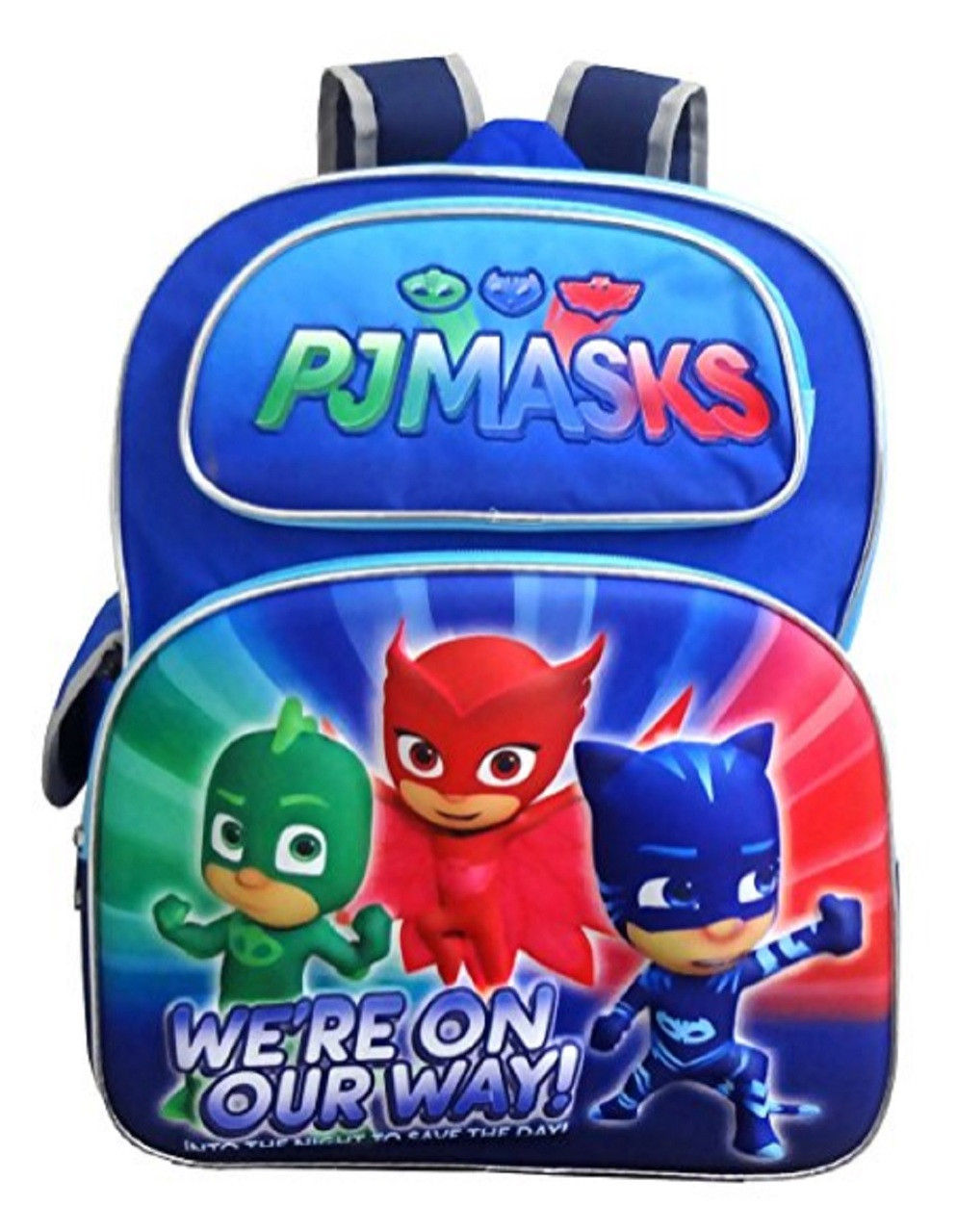 PJ Masks - Backpack - Large 16 Inch - Boys - 3D
