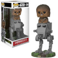 Funko Pop! Deluxe Star Wars Chewbacca in AT-ST Vinyl Figure #236