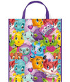 Candy Bags - Hatchimals - Large Tote - 13 Inches - Plastic - 8pcs