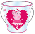 Party Favor Pails - Peppa Pig - Collectible Plastic Pail
