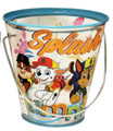 Party Favor Pails - Paw Patrol - Collectible Plastic Pail - Splash Into Summer