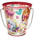 Party Favor Pails - Paw Patrol - Collectible Plastic Pail - Yeah