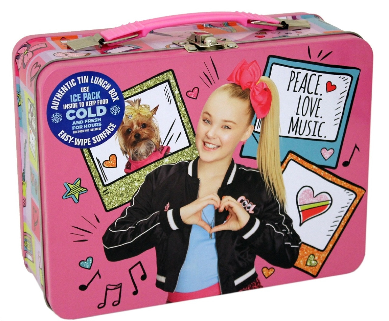 Party Favors - JoJo Siwa - Tin Lunch Box - XL