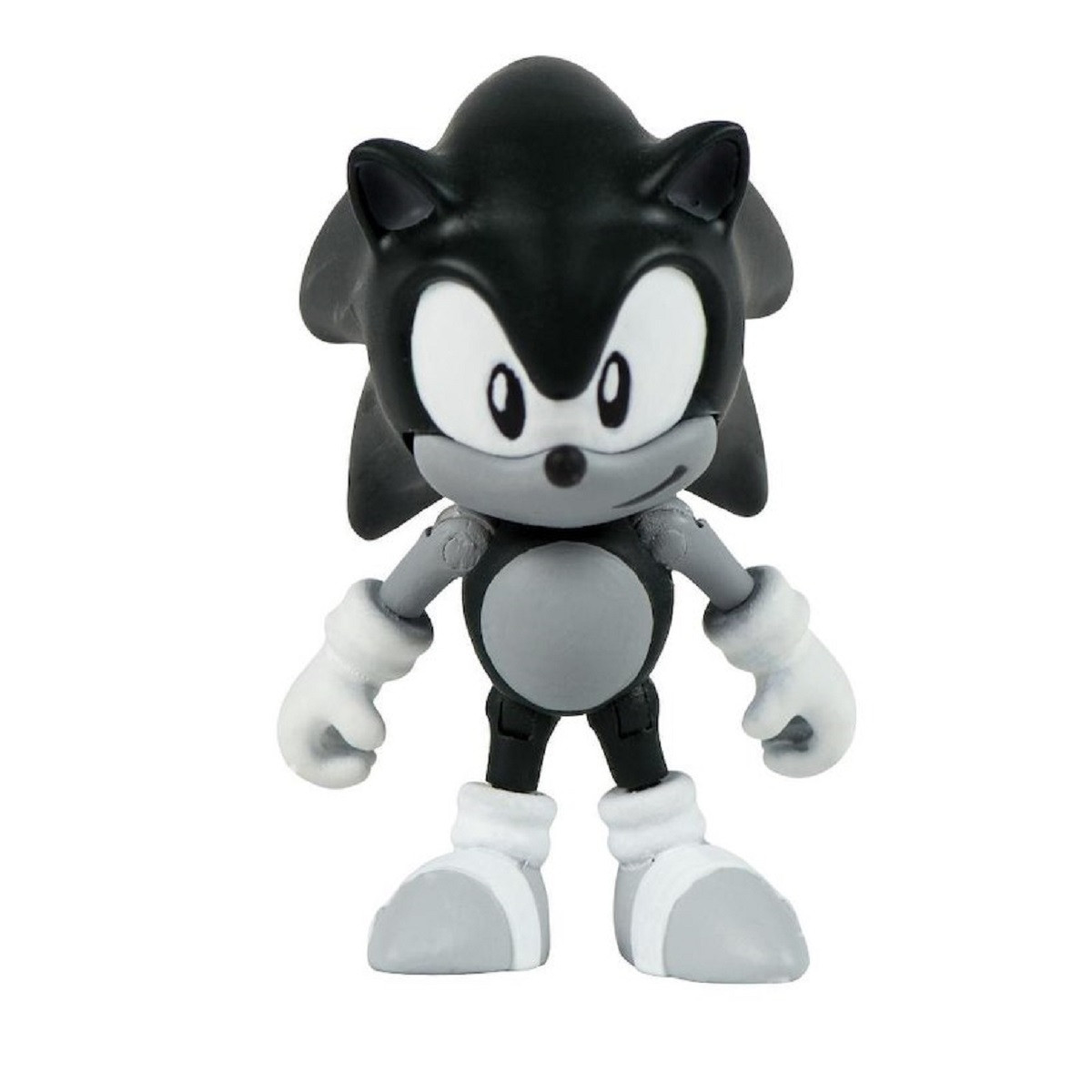 Action Figure Toy - Sonic Boom - Collector Series - Classic Sonic - Black and White