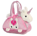 Plush Toy - Unicorn - Fancy Pals - In Purse