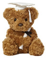 Plush Toy - Graduation Bear - White Cap - 8.5 Inches
