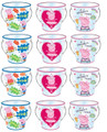 Favor Pails - Peppa Pig - Size Small - Pack of 12