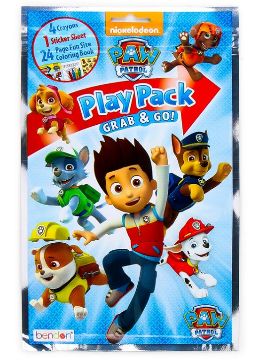 Party Favors - Paw Patrol - Grab and Go Play Pack - 1pc