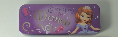 Tin Pencil Case - Sofia the 1st - Learning to Dance
