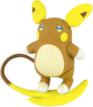 Action Figure Toy - Pokemon - Alolan Raichu - 3 Inch - Plastic