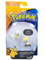 Action Figure Toy - Pokemon - Alolan Sandshrew VS Jangmo-o - 3 Inch - Plastic