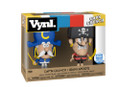 Funko VYNL Cap'N Crunch & Jean Lafoote Vinyl Collectibles