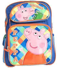 Backpack - Peppa Pig - Toddler - 12 Inch - George