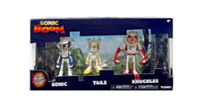 Action Figure Toy - Sonic Boom - Sonic - Tails - Knuckles - Spacesuit - Plastic 3 Inch