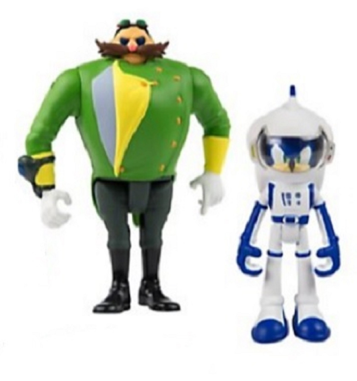 Sonic Boom  Sonic + Parallel Universe Villain - Plastic 3 Inch Action Figure Toy