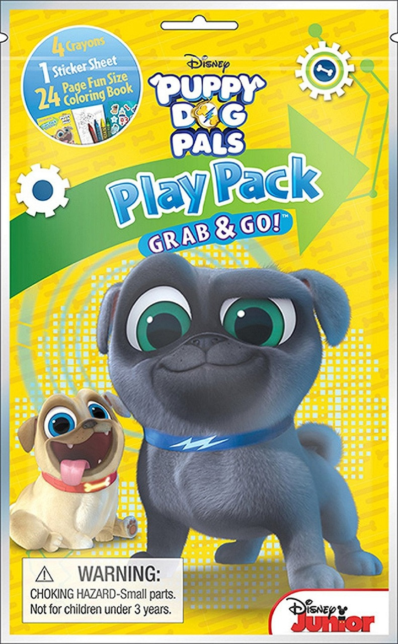 Party Favors - Puppy Dog Pals - Grab and Go Play Pack