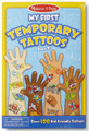 Melissa and Doug Blue Temporary Tattoos Collection