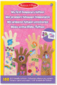 Melissa and Doug Pink Temporary Tattoos Collection