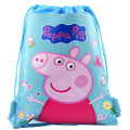 Party Favors - Peppa Pig - Drawstring Bag - Blue