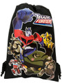 Transformers Black Drawstring Bag - Filled