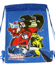 Party Favors - Transformers - Drawstring Bag - Blue