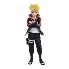 Naruto Next Generations - Shinobi Relations Neo Figure - Boruto Uzumaki - 9 Inch PVC Collectible Figure