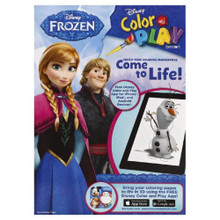 Coloring Book - Frozen - 96p - Color And Play