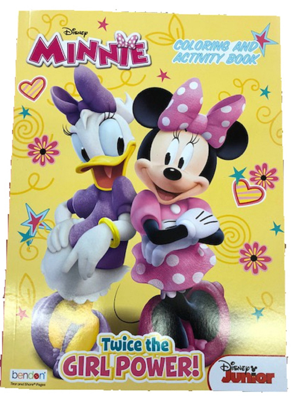- Minnie Mouse 128p Coloring Books For Only $1.99 Partytoyz.com