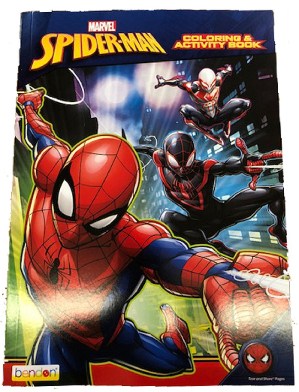 Spiderman Coloring and Activity Book - 128 pages