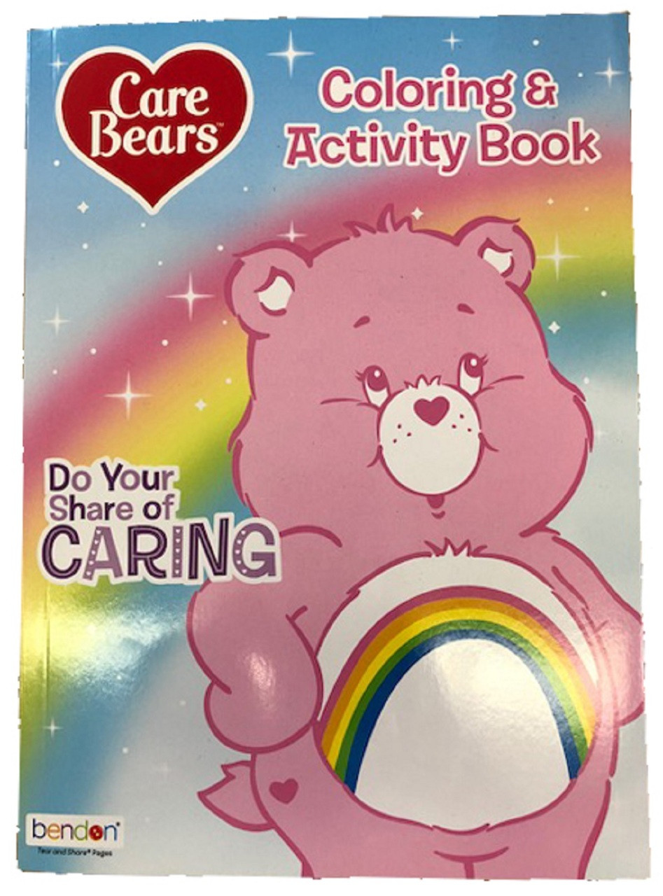 Care Bears Coloring and Activity Book - 128 pages