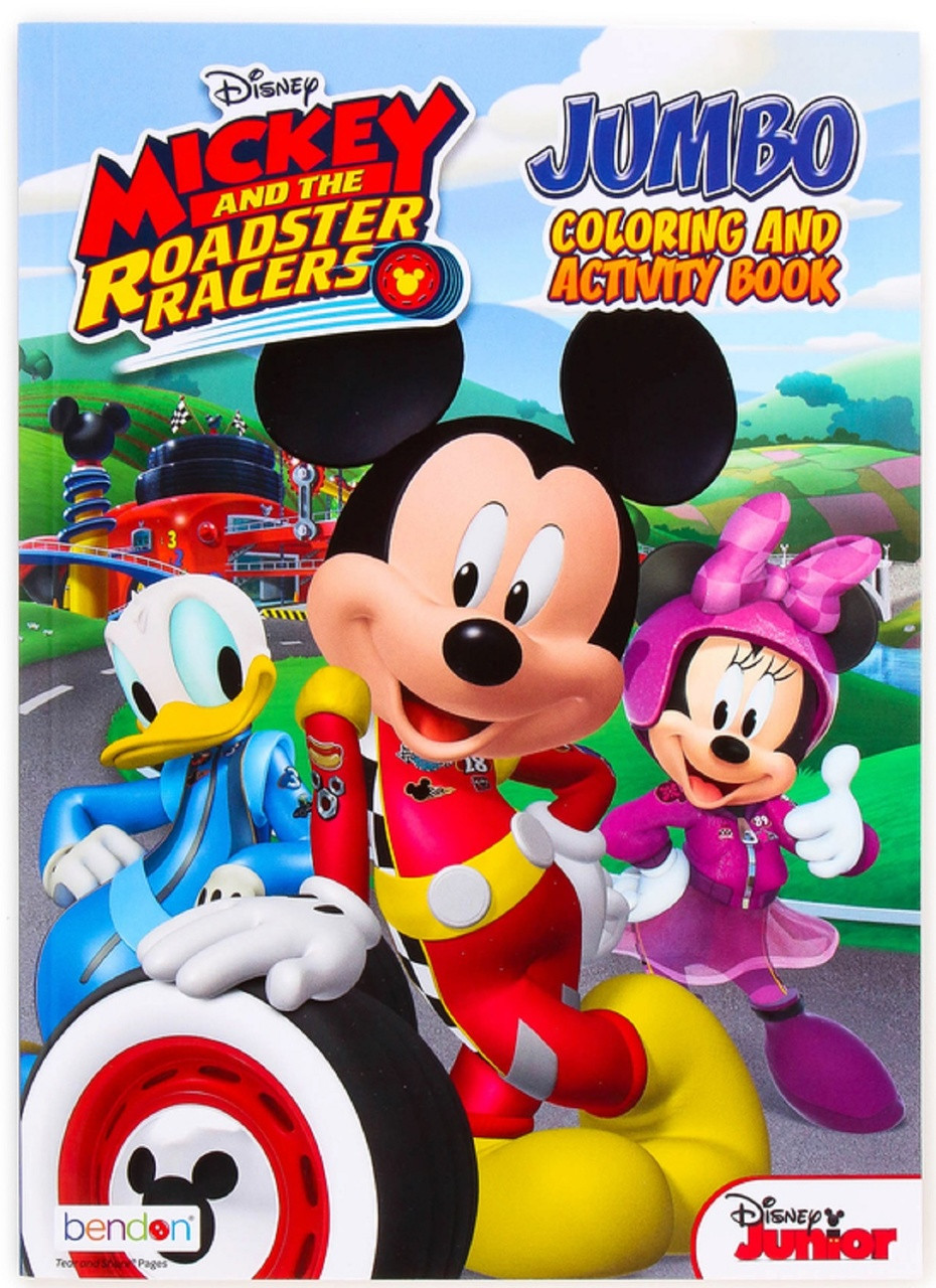 Mickey Mouse Coloring Books with