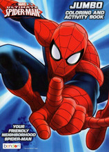 Coloring Book - Spiderman - Party Favors - 96 Pages - Friendly Neighborhood Spider-man