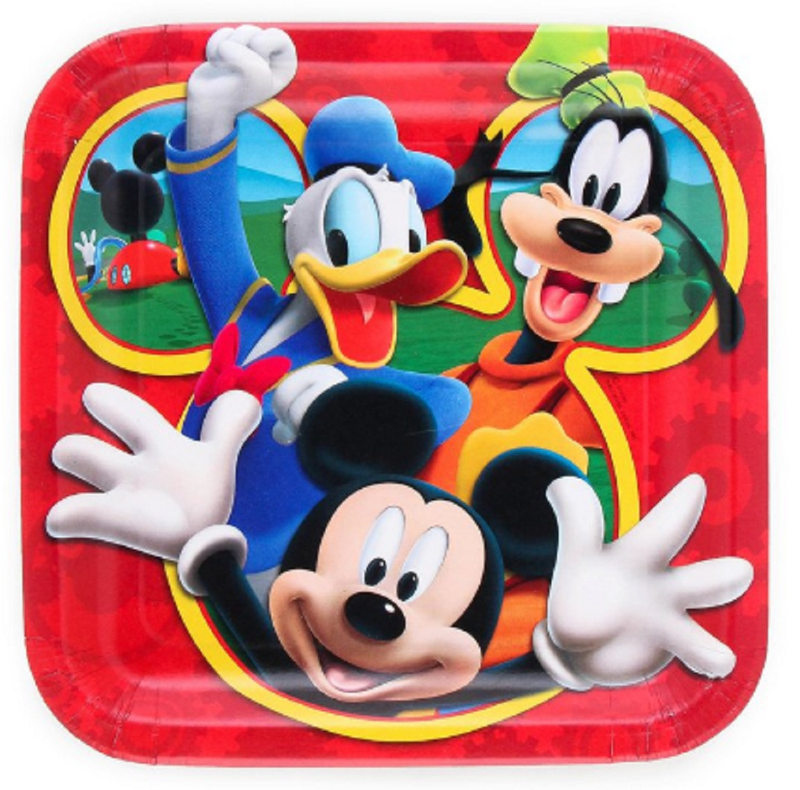 Plates - Mickey Mouse - 9 Inch Large - Party Supplies