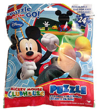 Puzzles - Mickey Mouse - 24pc - Foil Bag