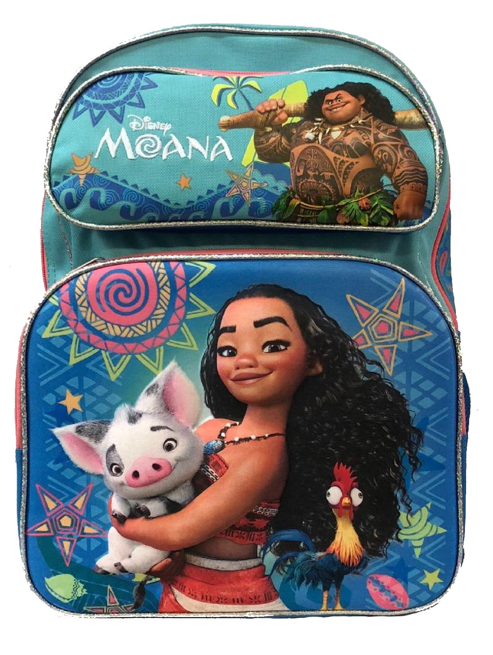 Moana 3D Backpack - 16 inches in height