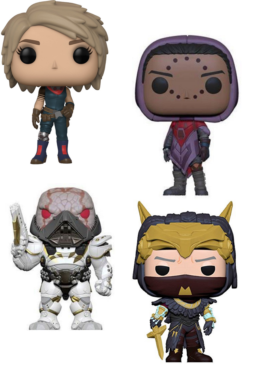 Funko Pop! Games Destiny S2 Bundle Vinyl Figures