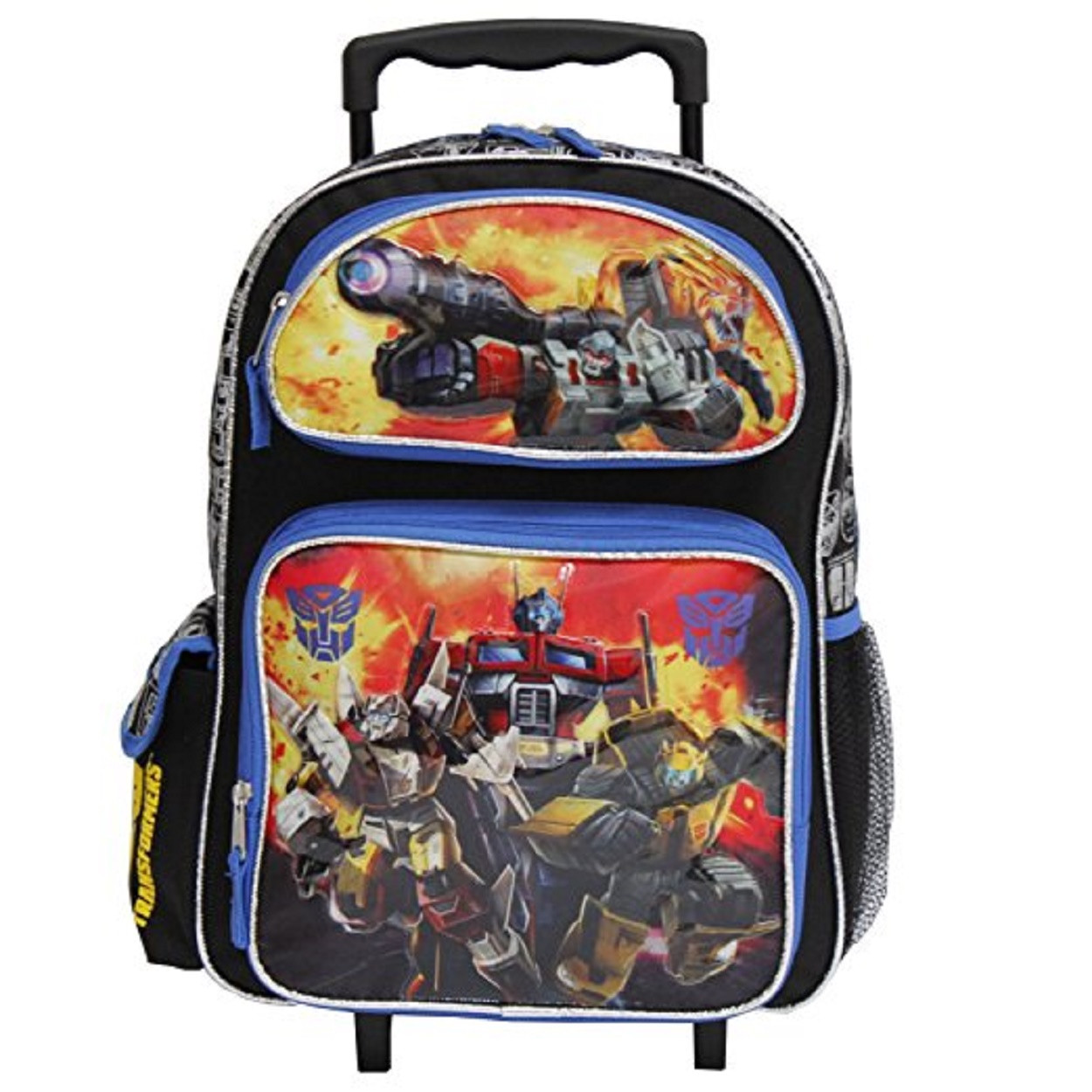 "Transformers 16"" Inch Large Rolling Backpack - Optimus"