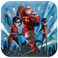 Party Supplies - Incredibles - Plates - 9 inch - Dinner