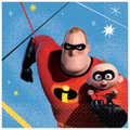 Party Supplies - Incredibles - Napkins - Small