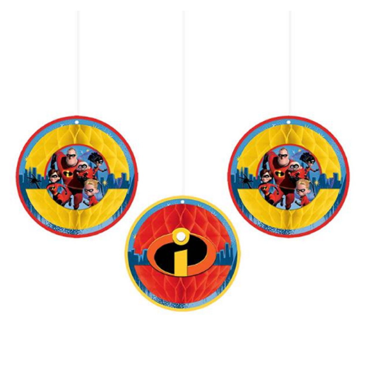 Party Supplies - Incredibles - Honeycomb Décor