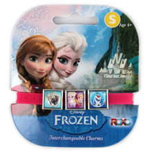 Frozen charm bracelet with Anna and Elsa