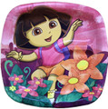 Dora the Explorer 7 Inch Dessert Plates - Pocket Plates