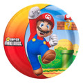 Mario Brothers Large 9 Inch Round Dinner Plates