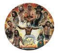 WWE Large 9 Inch Round Dinner Plates (8ct)