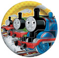 Thomas The Train Small 7 Inch Round Dessert Plates (8ct)