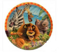 Madagascar Large Round Dinner Plates (8ct)