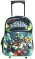 "Teenage Mutant Ninja Turtles Large 16"" Cloth Backpack With Wheels - Shell Power"