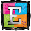Letter Balloons - E - 18 Inch - Square