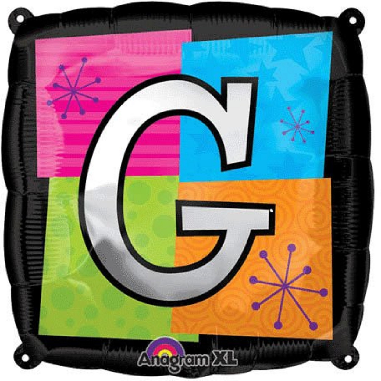 Letter Balloons - G - 18 Inch - Square